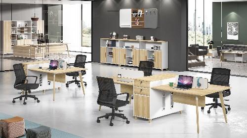现代办公家具款式造型搭配优势及选购考虑