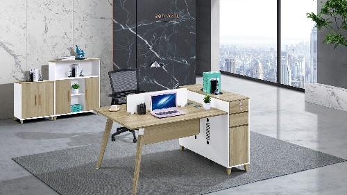 企业形象展示里布开良好的办公家具设计