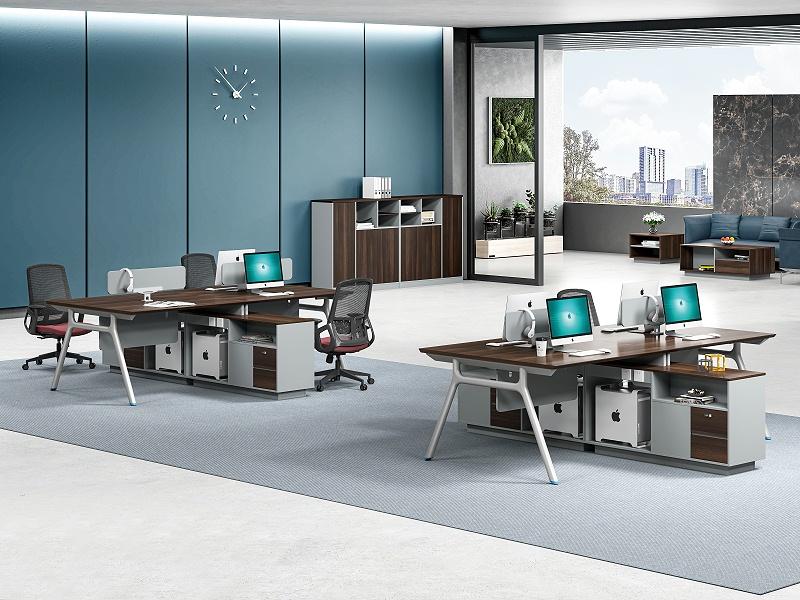 杰森四人办公桌-1
