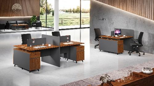 办公家具定做广泛使用人造板的原因