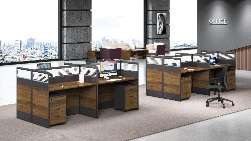 经济迅速的发展定制办公家具满足时尚个性化设计