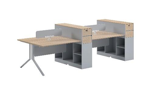 办公家具定制搭配方法及不同材质的设计风格