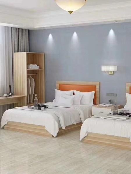 现代简约风板式酒店家具定制深受年轻人的喜爱