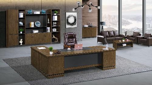 办公家具通过选用不同材质设计不一样的美感