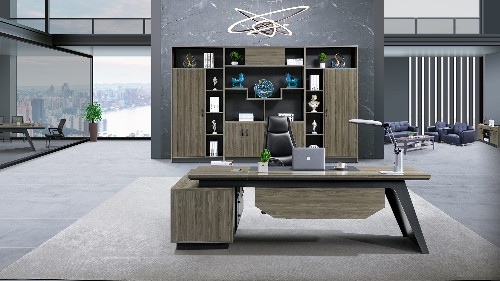 老板的办公室进行装修设计办公家具的选择