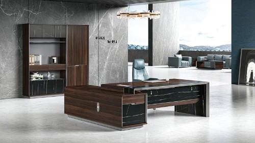 实木办公家具和板式办公家具款式设计的区别